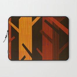 Retro Fall Woods by Friztin Laptop Sleeve