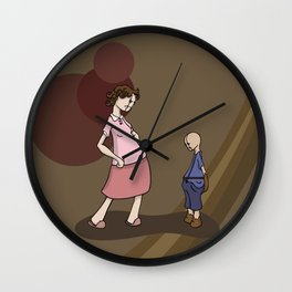 where have you been? Wall Clock