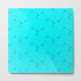 Simple Geometric Pattern 3 tb Metal Print