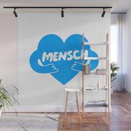 Mensch Wall Mural