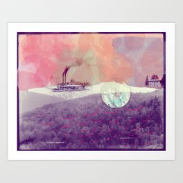 Basye River Poetry Art Print