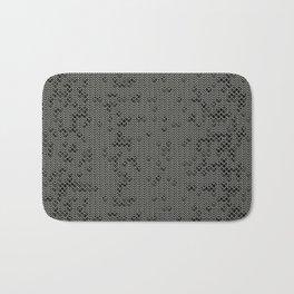 Chain Mail Texture Bath Mat