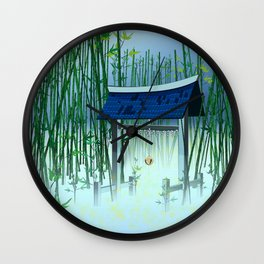 A moonless night Wall Clock