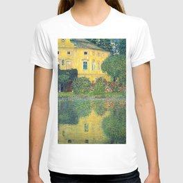 """Gustav Klimt """"Schloss Kammer on the Attersee IV"""" T-shirt"""