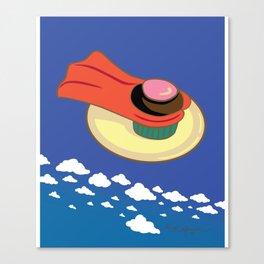 Super Cupcake Canvas Print