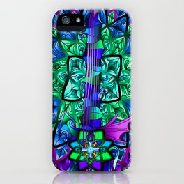 Fusion Keyblade Guitar #159 - Diamond Dust & Mirage Split Reality Shift iPhone Case