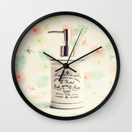French Bath Wall Clock