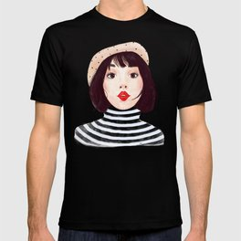 French woman T-shirt