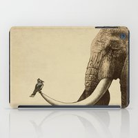 bird iPad Cases featuring Old Friend by Eric Fan