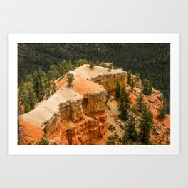 Piracy Point View at Bryce Canyon National Park Art Print