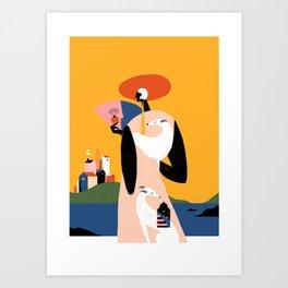 a  y  o Art Print