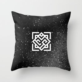 The Sound of the Universe Throw Pillow