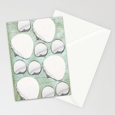 Stone Bubbles Stationery Cards