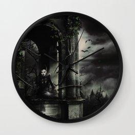Hallween Queen 3 Wall Clock