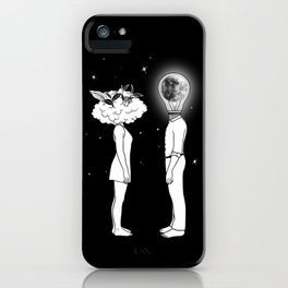 Day Dreamer Meets Night Thinker iPhone Case