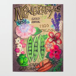 Newberry's Seed Catalogue Poster