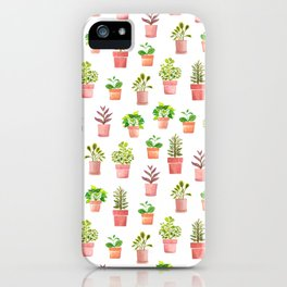 Indoor Plant Collection iPhone Case