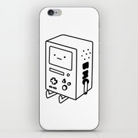 bmo iPhone & iPod Skins featuring BMO by Tom Milburn