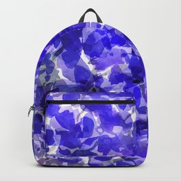 Royal Blue Delphiniums Backpack