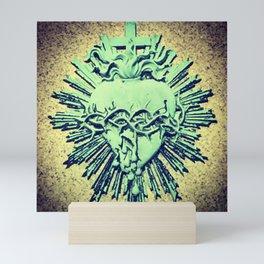 Corazon Sagrado Mini Art Print