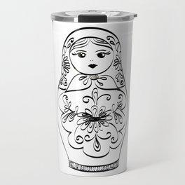 Russian Nesting Doll Travel Mug