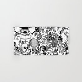 Dark Matter Space Machine Hand & Bath Towel