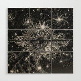 Galaxy Wood Wall Art