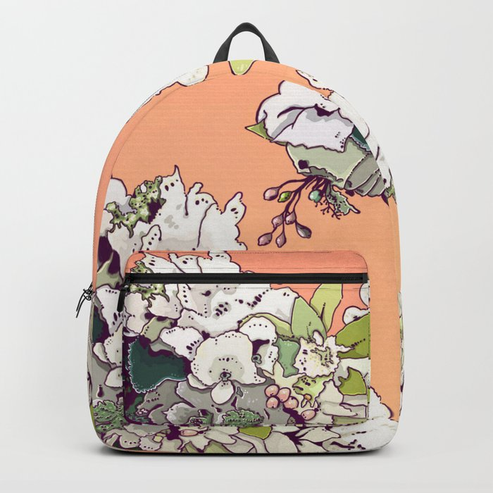 Geisha Under the Sun Backpack