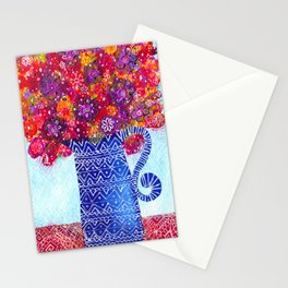 Vase of Flowers Stationery Cards