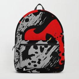 Hearts pierced with an arrow Backpack