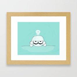 Bored... Framed Art Print