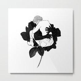 Hugging hope. Metal Print
