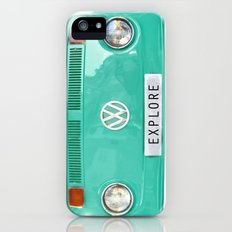 Explore wolkswagen. Summer dreams. Green iPhone (5, 5s) Slim Case