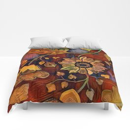 Richness of Color Comforters