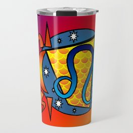 astrology,Leo Travel Mug