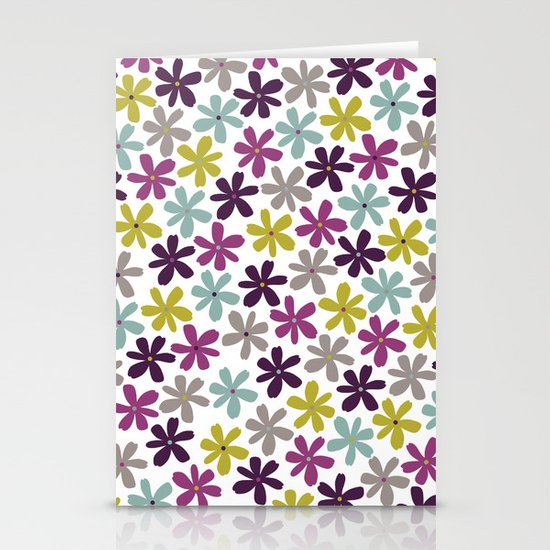 Allium Ditsy Stationery Cards