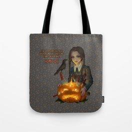 Wednesday Addams - Homicide Tote Bag