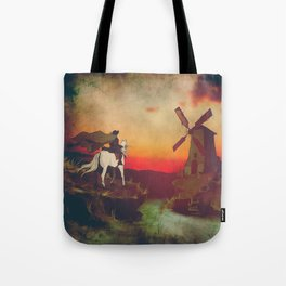 Don Quijote Tote Bag
