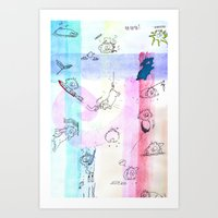 Various Coools II Art Print
