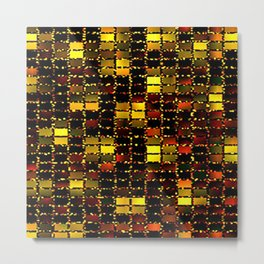 Rugged Rectangles Metal Print