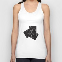 xbox Tank Tops featuring Arrows by Dizzy Moments