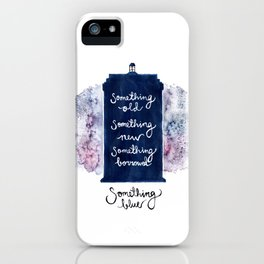 tardis - doctor who iPhone Case