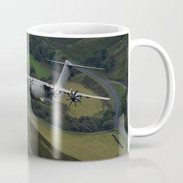 Airbus A400M At Mach Loop Coffee Mug