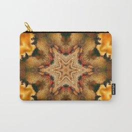 Autumn Star Mandala Carry-All Pouch