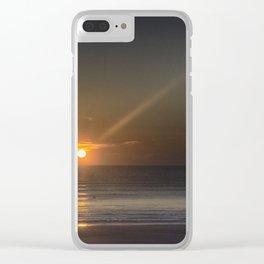 Breaking Dawn Daytona Beach Clear iPhone Case