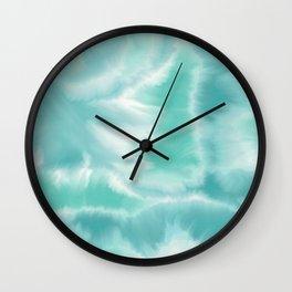 Misty Waters Wall Clock
