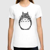 ghibli T-shirts featuring Ghibli Zentangle by Riaora Creations