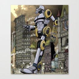Steampunk Automaton Canvas Print