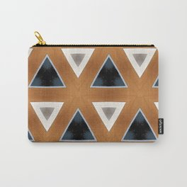 Triangles in Line Carry-All Pouch