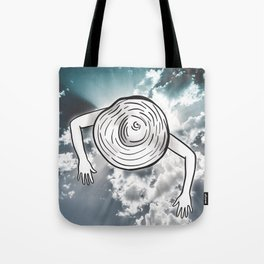 Treading Clouds Tote Bag